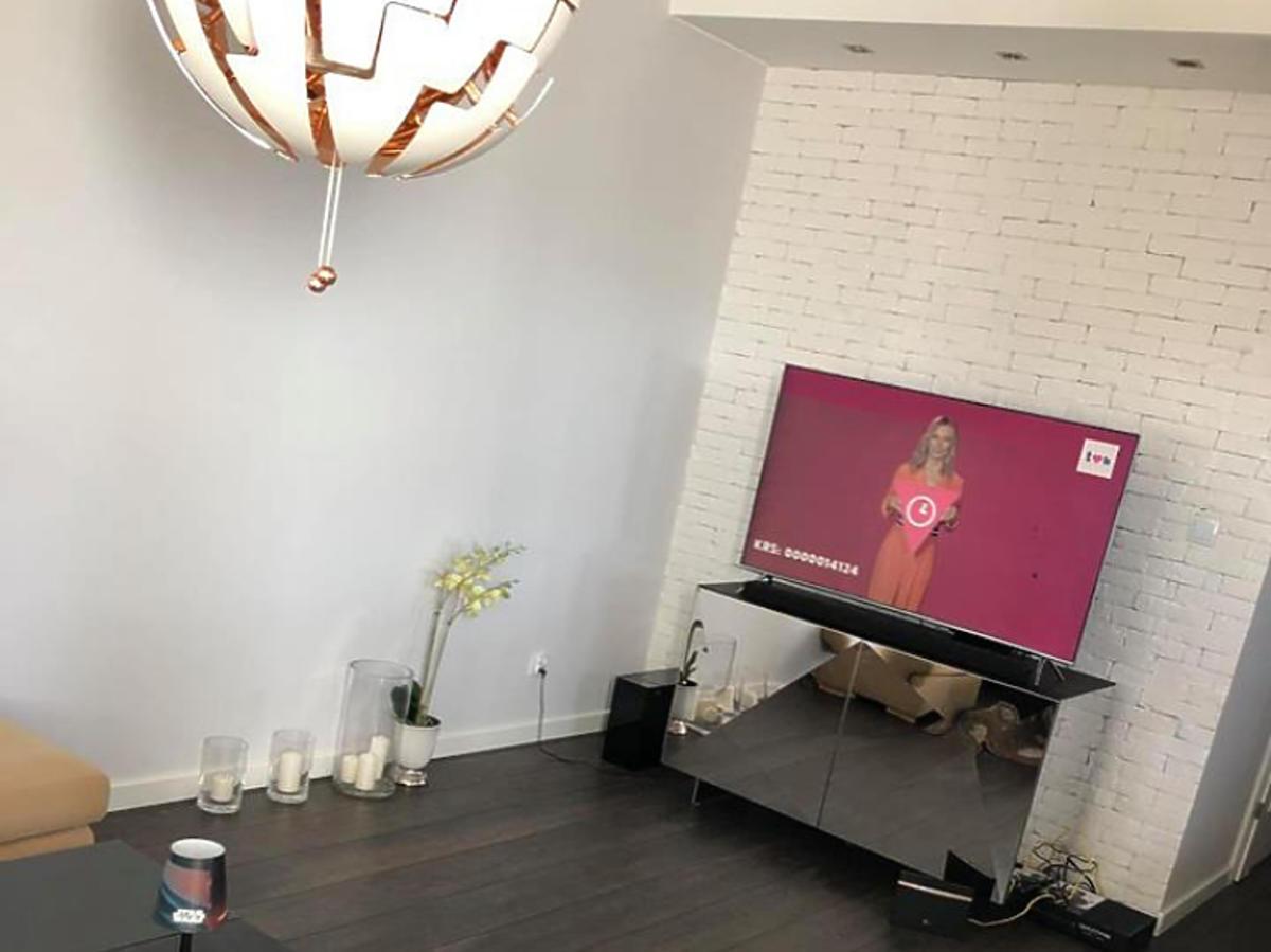 Salon  w domu Daniela Martyniuka