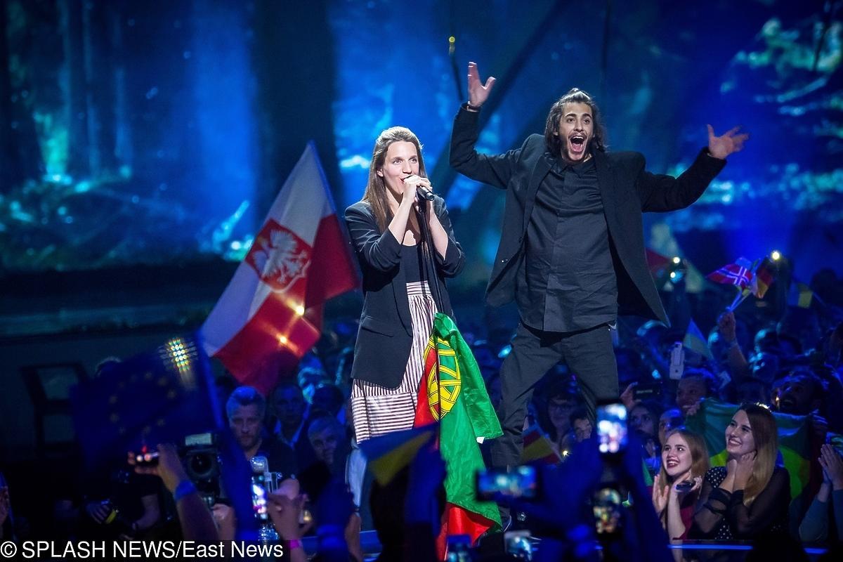 Salvador Sobral z siostrą po wygranej Eurowizji 2017