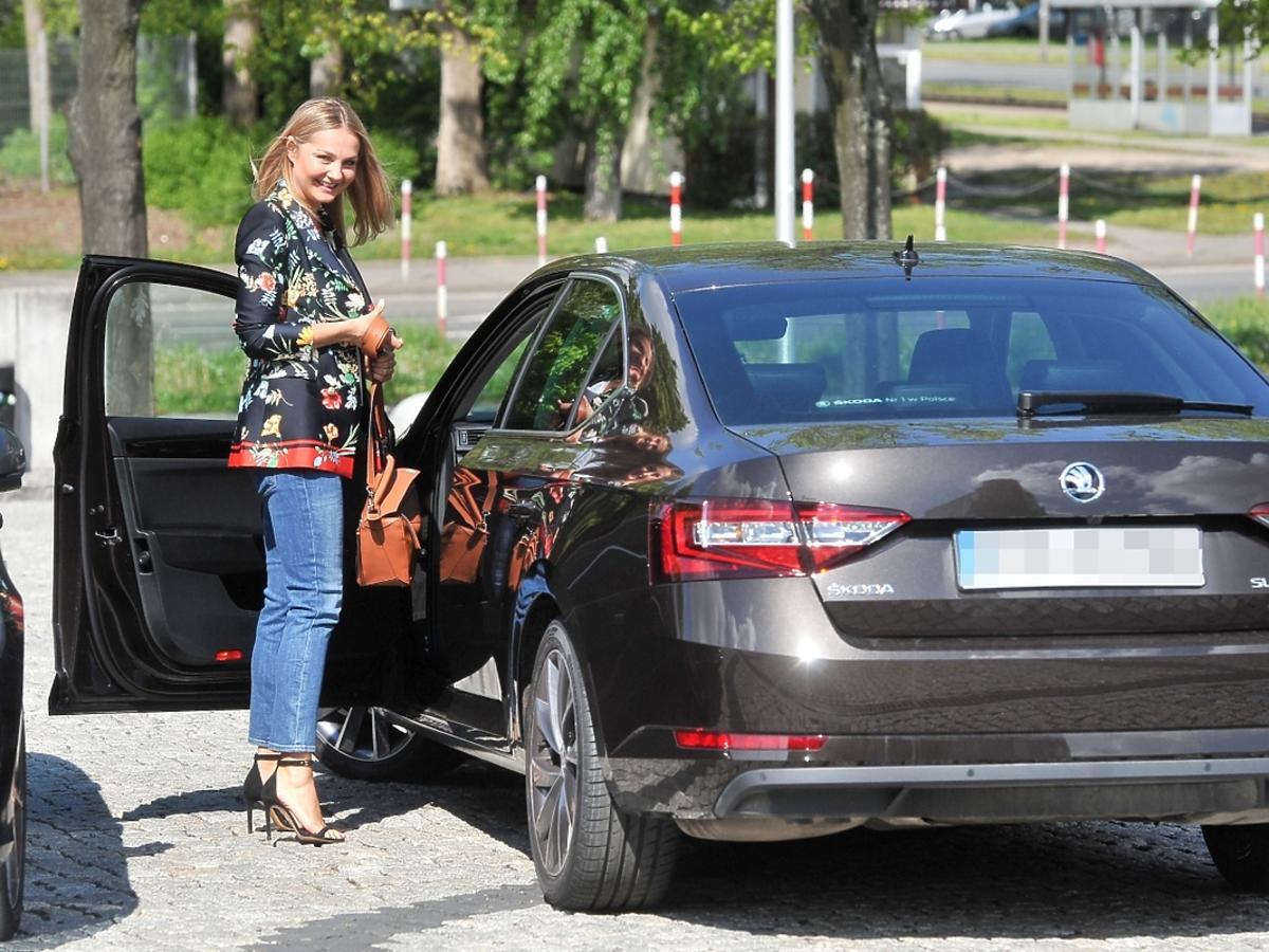 Samochód Małgorzaty Sochy