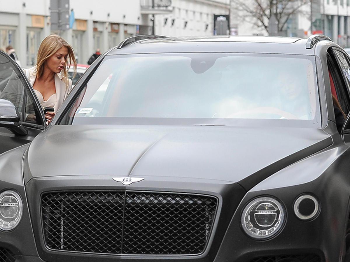 Samochód Mariny - Bentley za milion