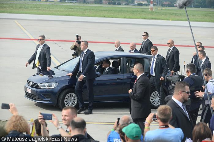 Samochód papieża Franciszka