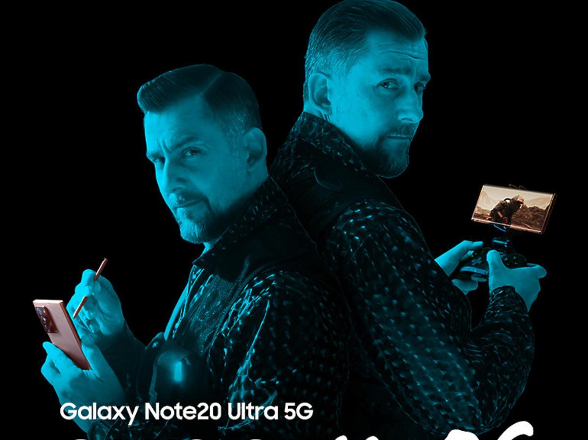Samsung i Sokół powracają w kampanii Galaxy Note20 Ultra 5G!