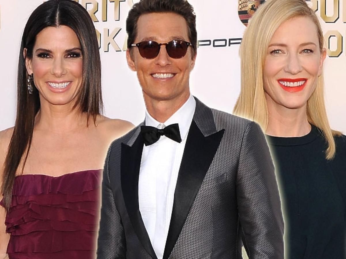 Sandra Bullock, Matthew McConaughey, Cate Blanchett