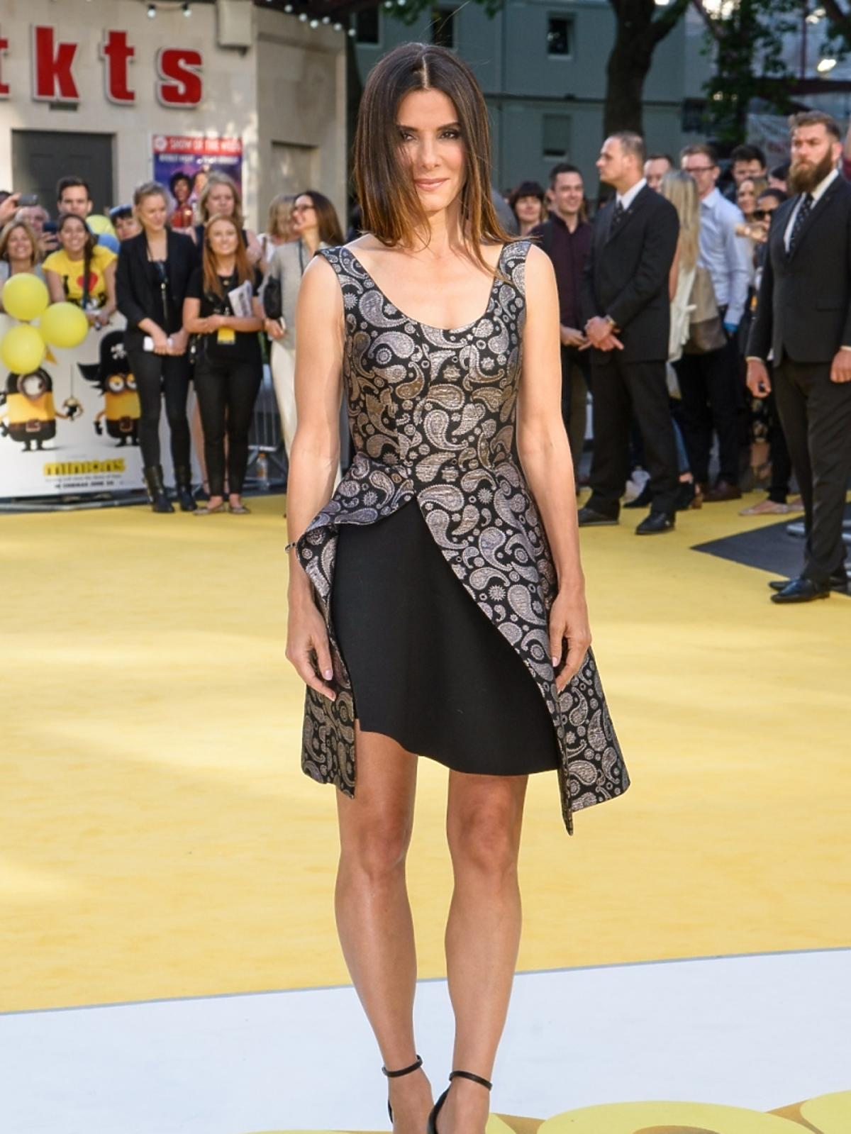 Sandra Bullock na światowej premierze filmu