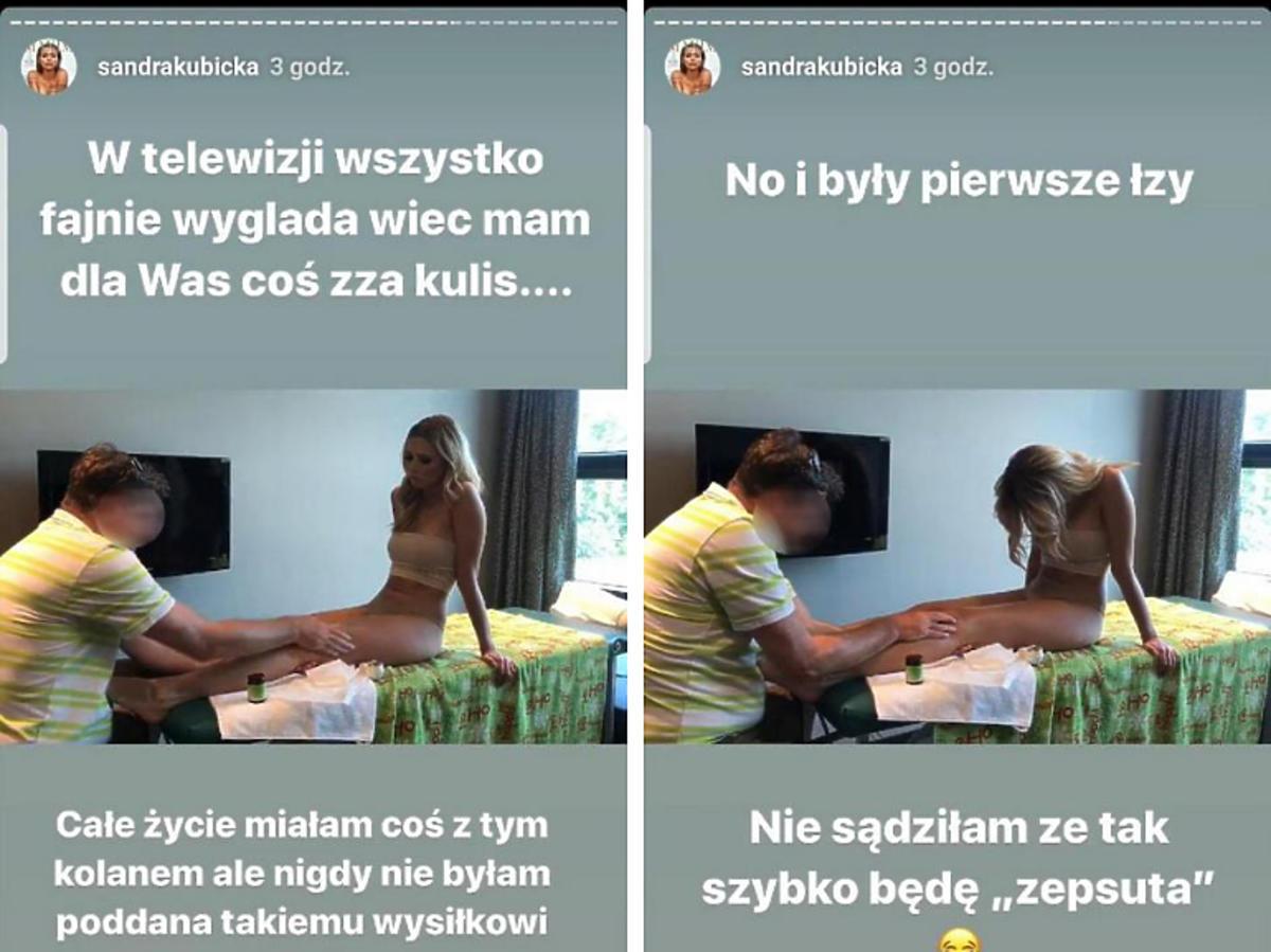Sandra Kubicka po kontuzji w Tańcu z gwiazdami
