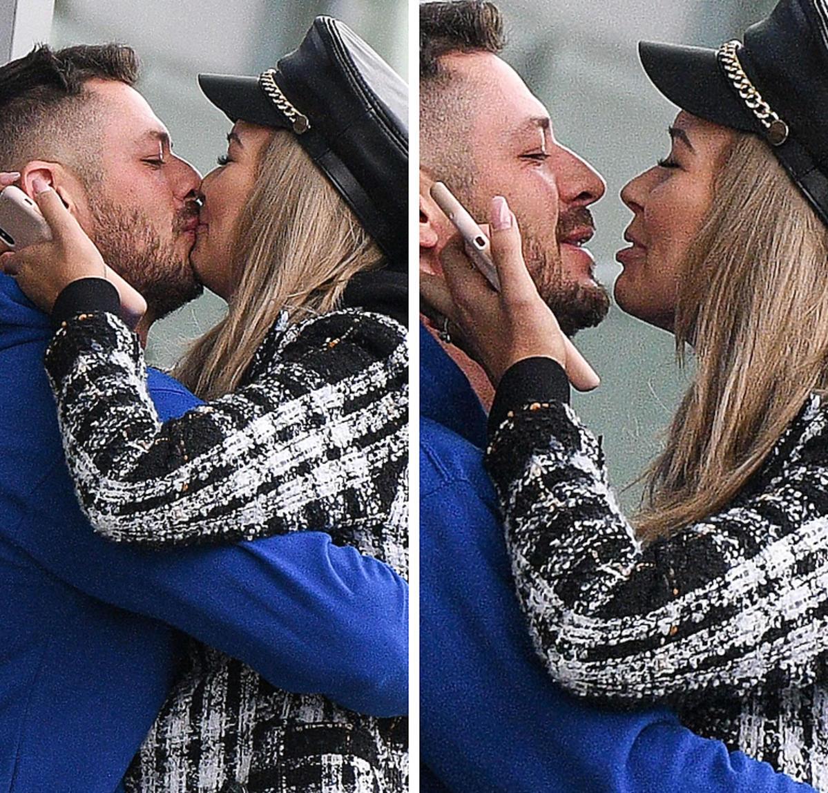 Sandra Kubicka wita swojego chłopaka pocałunkami na lotnisku