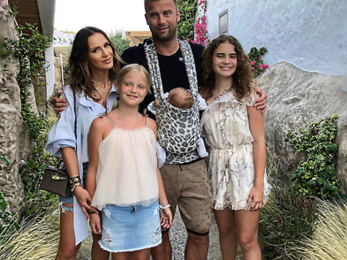Sara Boruc, Artur Boruc z dziećmi