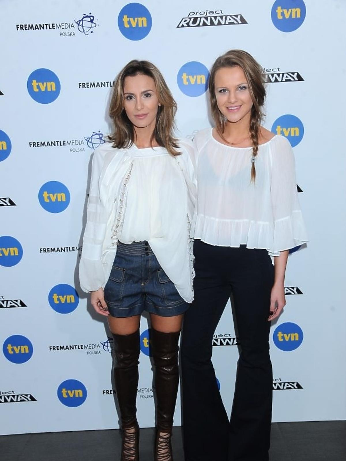 Sara Boruc i Ines Mannei w finale Project Runway 2