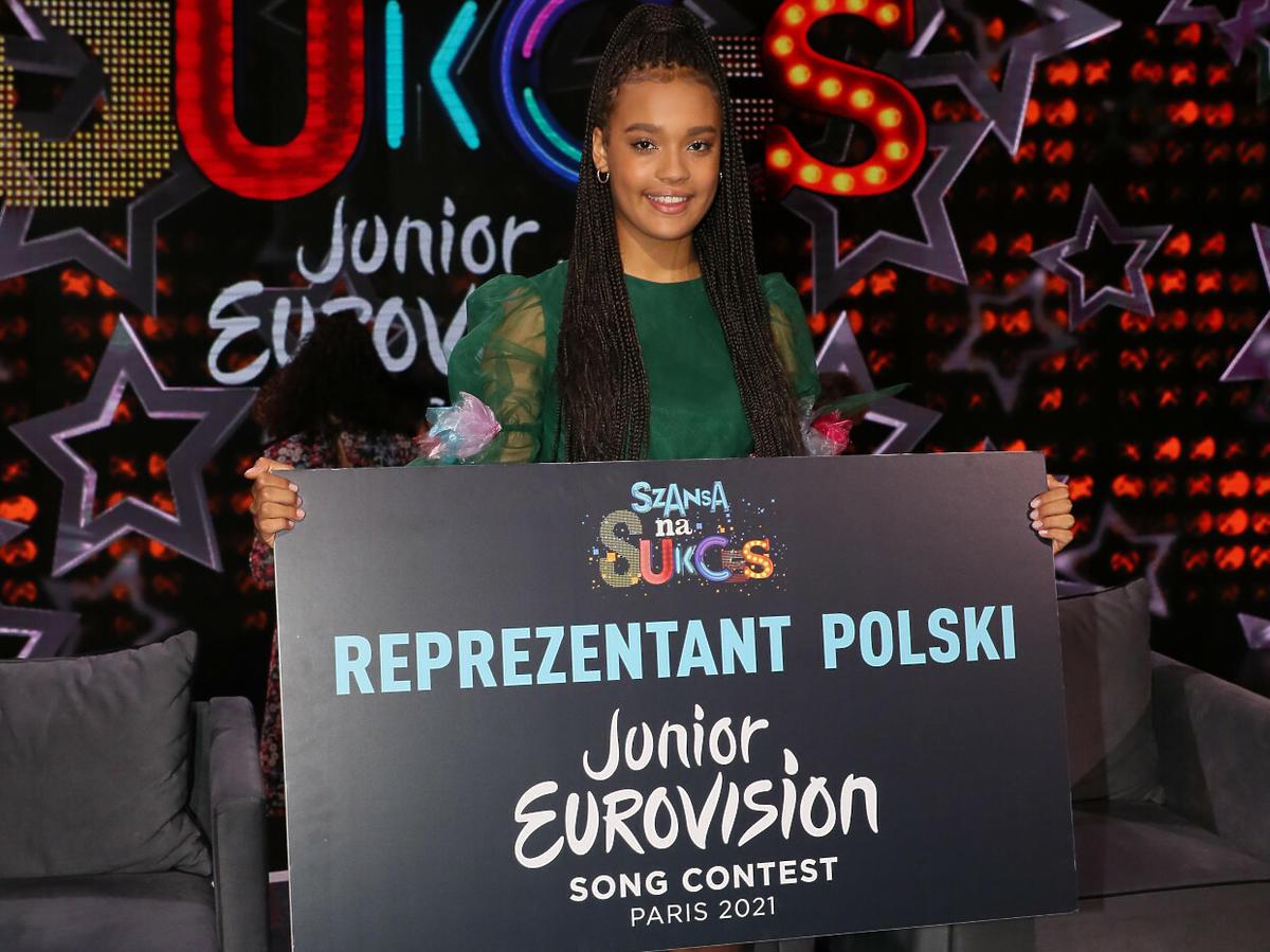 Sara James jedzie na Eurowizję Junior 2021