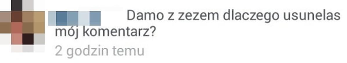 Sara Mannei atakuje fankę na Instagramie
