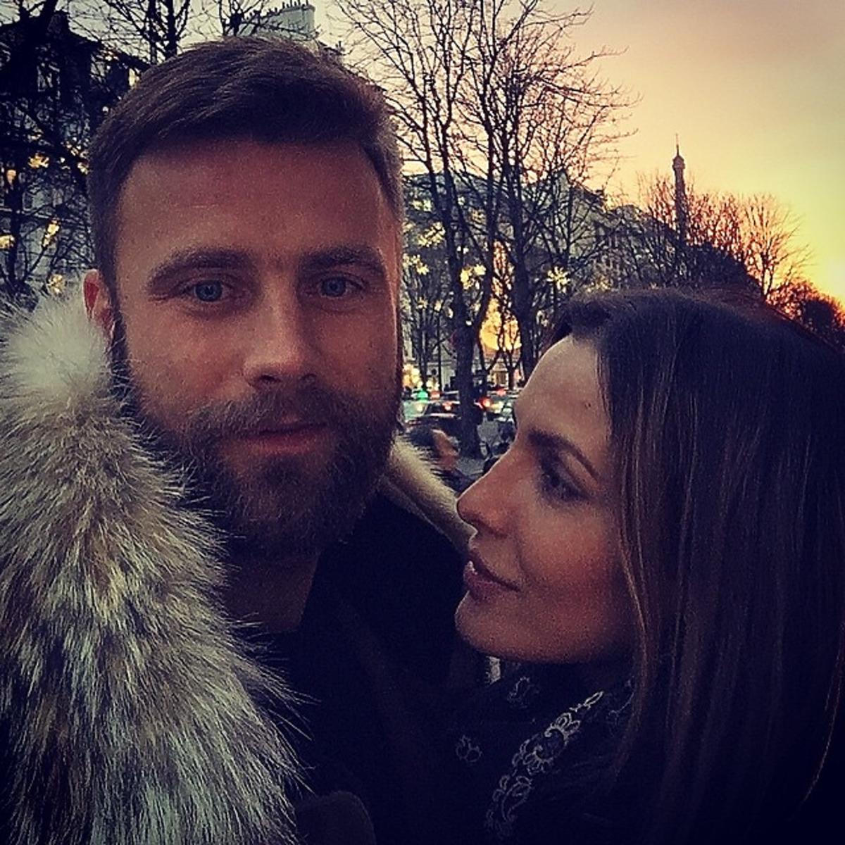 Sara Mannei i Artur Boruc w Paryżu