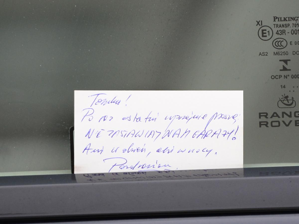 Sąsiedzi wściekli na Tomasza Karolaka
