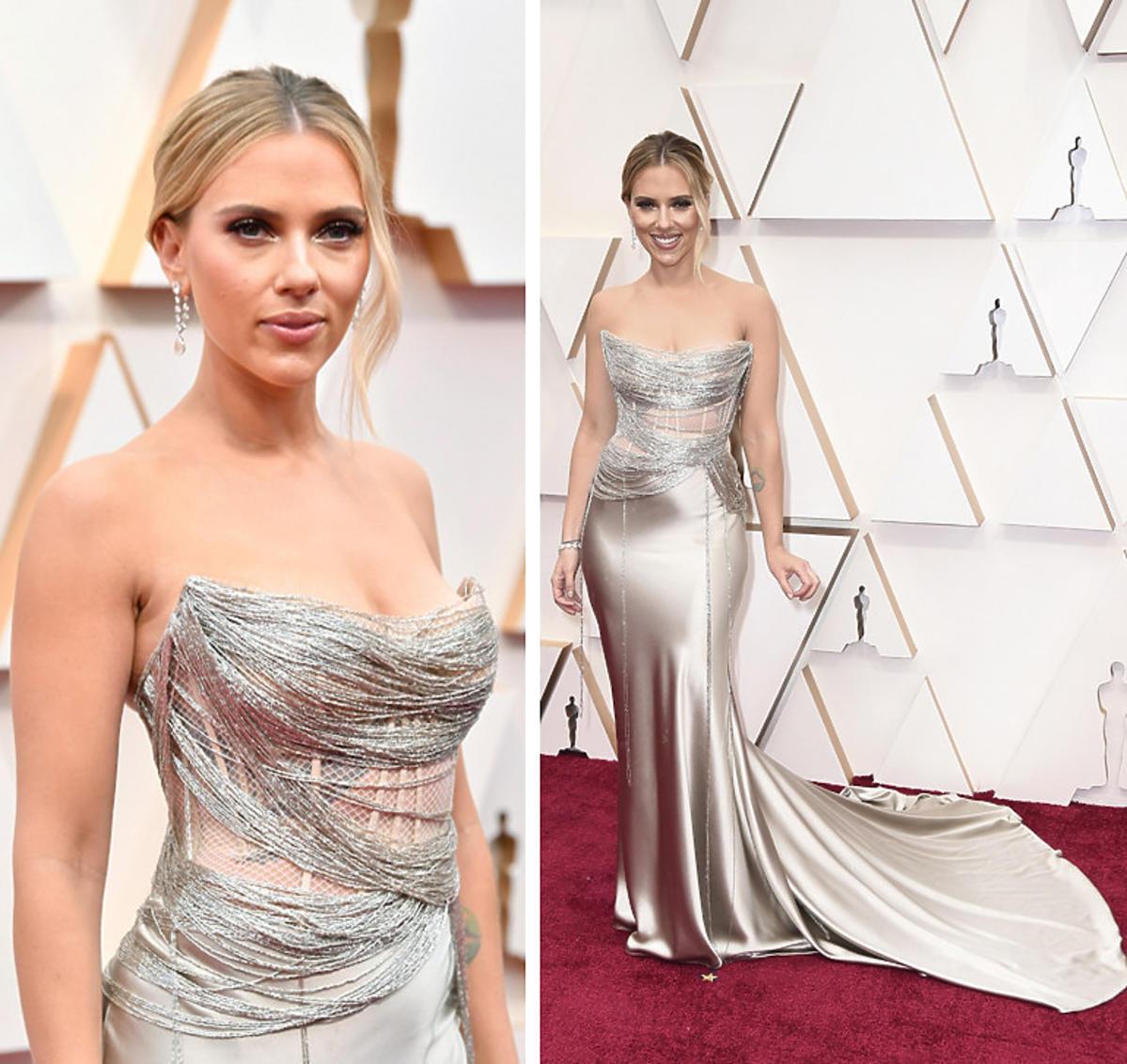 Scarlett Johansson na gali Oscarów 2020