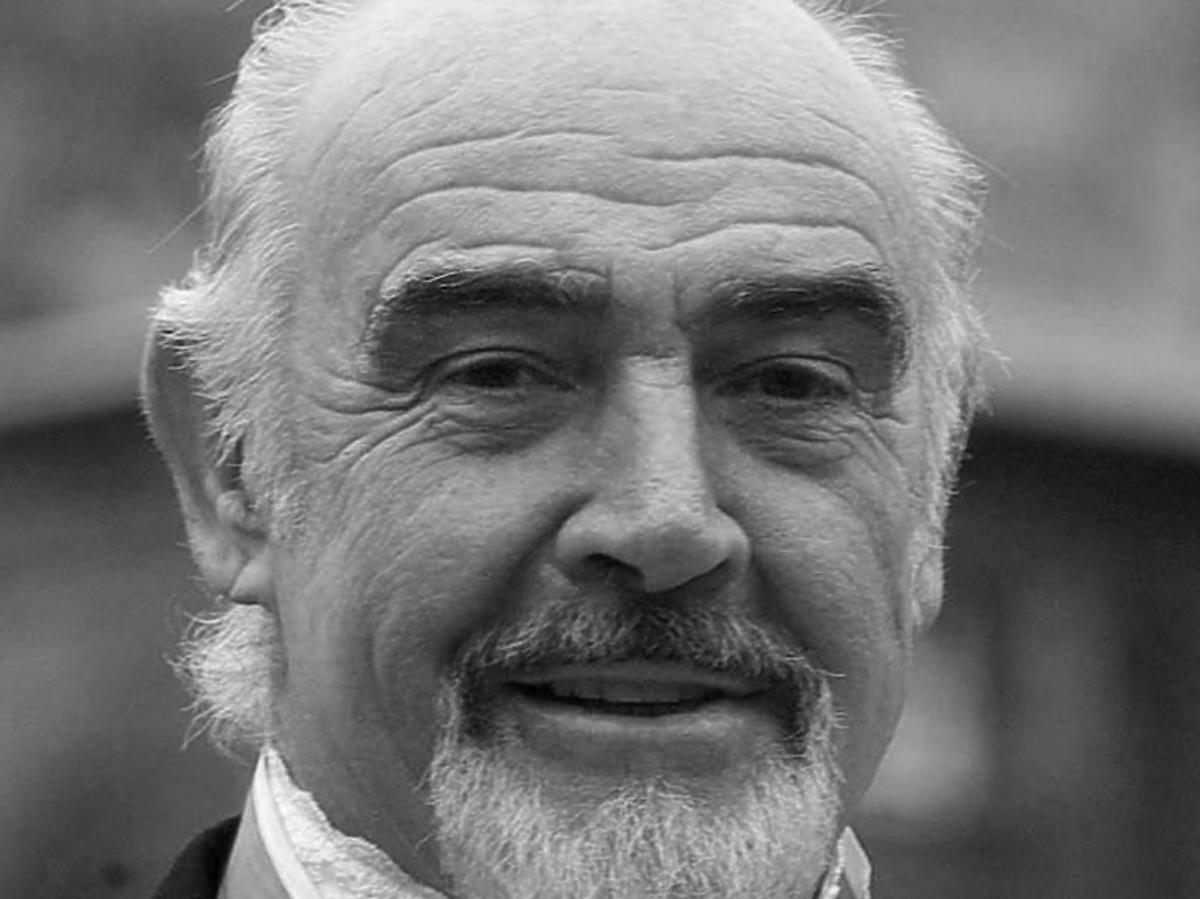 Sean Connery nie żyje! Zmarł w wieku 90 lat