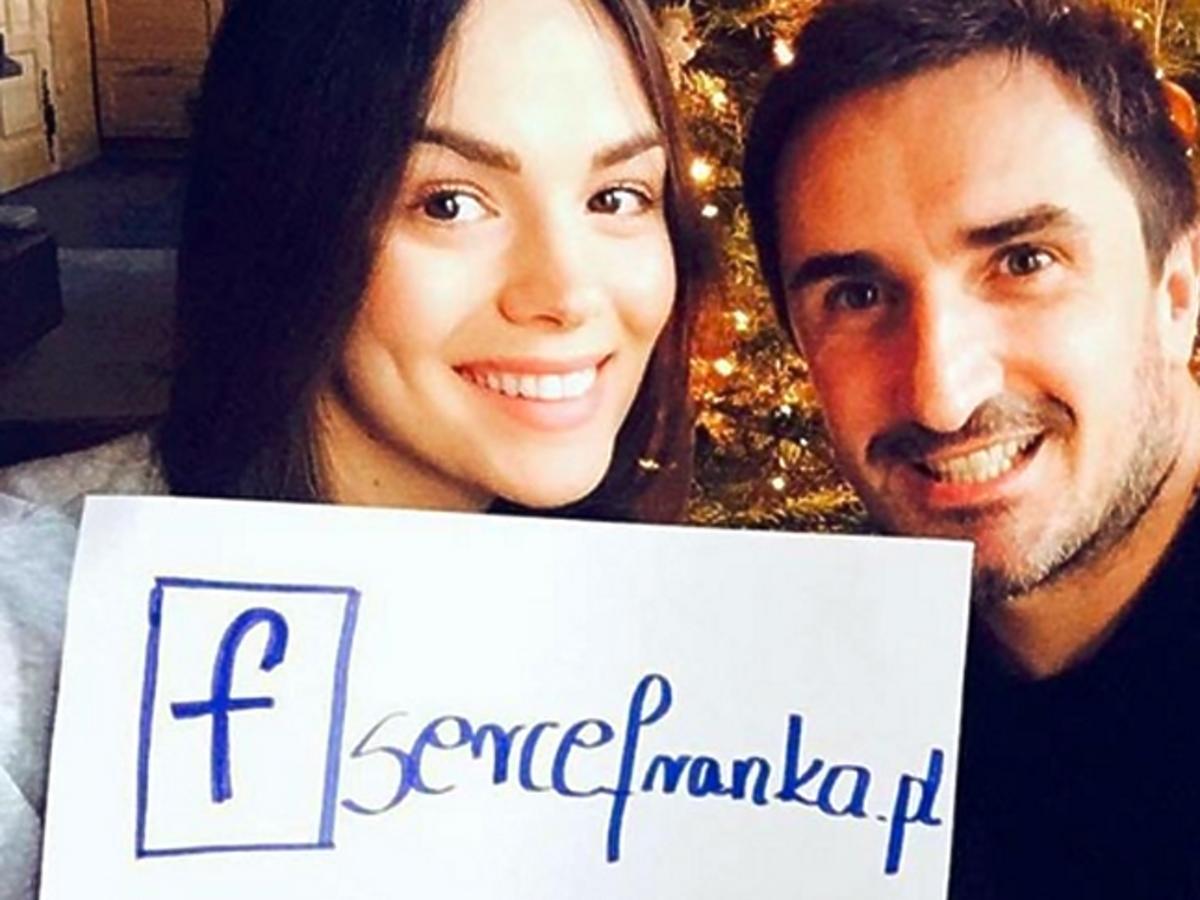 Sebastian Karpiel Bułecka i Paulina Krupińska proszą o pomoc dla Franka