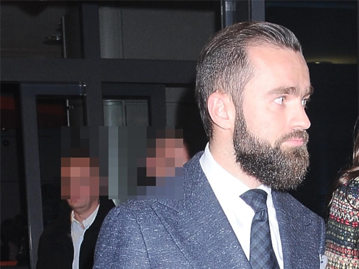 Sebastian Kulczyk z brodą