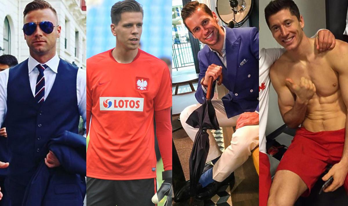 Seksowni piłkarze z Reprezentacji Polski w piłce nożnej