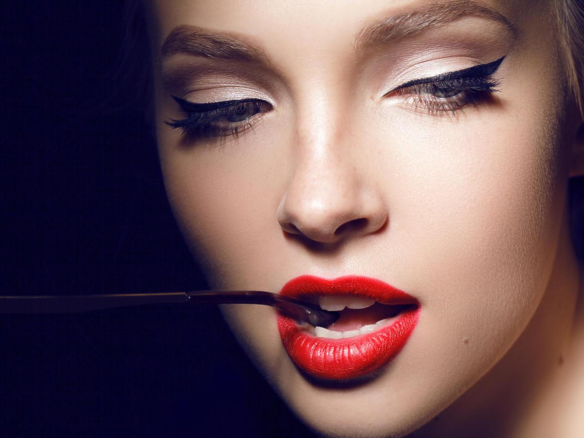 Seksowny makijaż