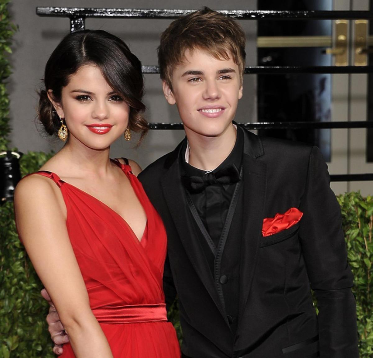 Selena Gomez i Justin Bieber razem, zakochani