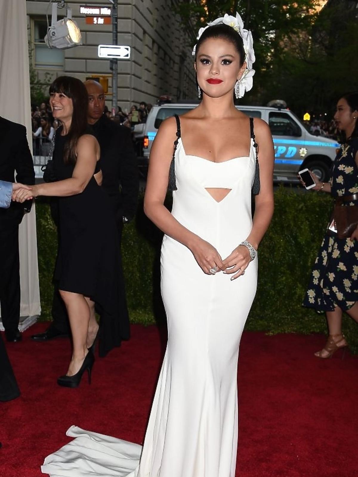 Selena Gomez na gali MET 2015