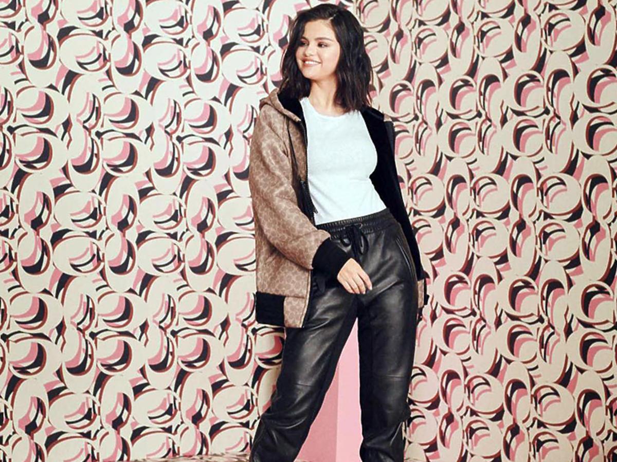 Selena Gomez w kampanii Coach