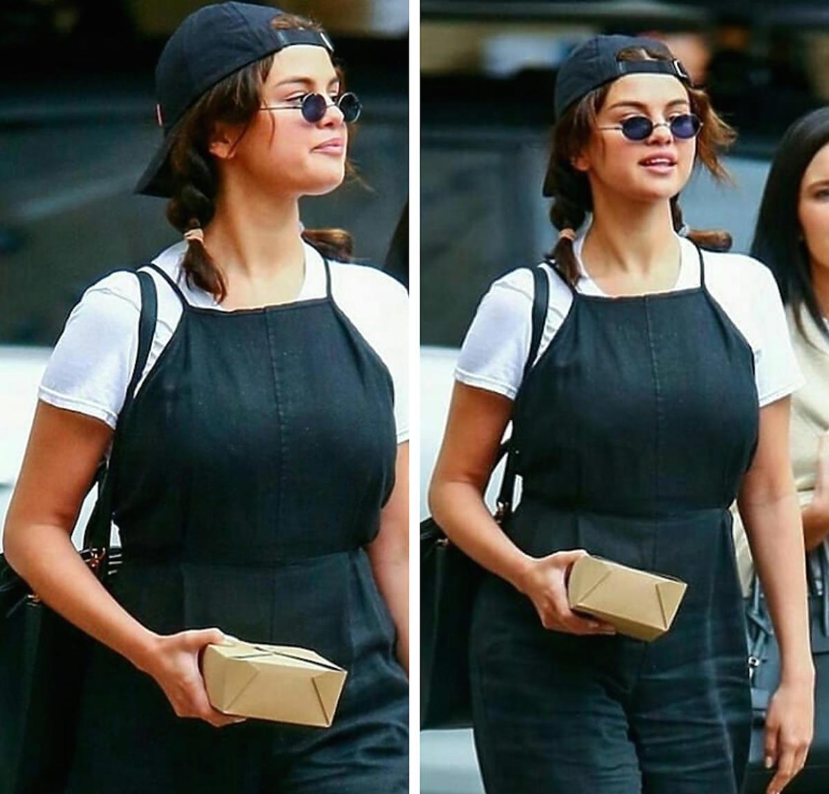 Selena Gomez w zwykłej codziennej stylziacji