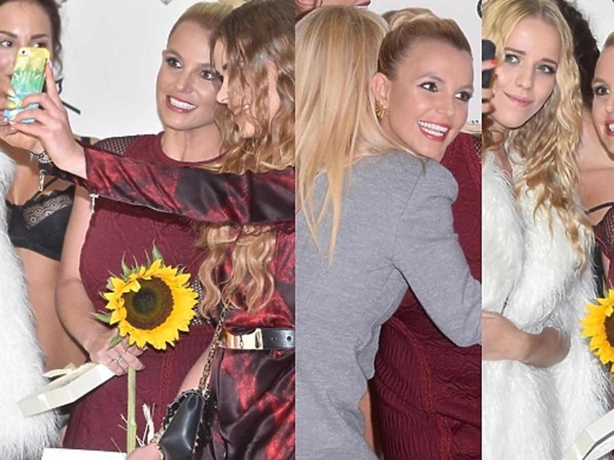 Selfie Britney Spears z Jessicą Marcedes, Dodą i Maffashion