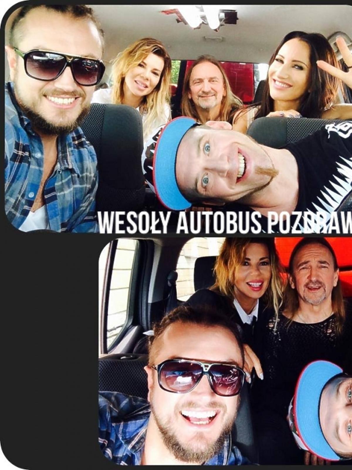 Selfie jurorów The Voice of Poland