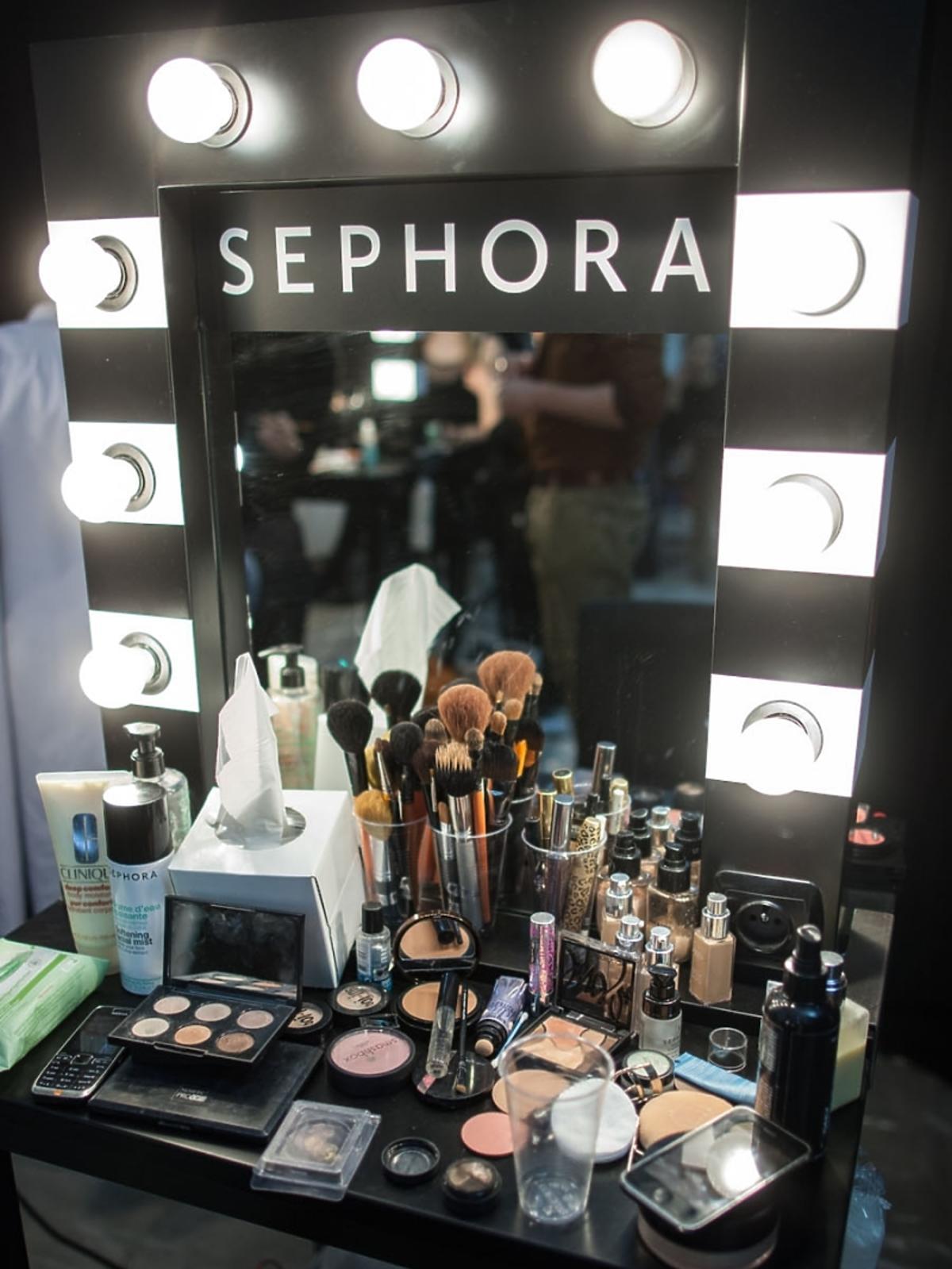 Sephora - wyłącznym kreatorem makijażu podczas Flesz Fashion NightRCIN AWICHOWSKI.jpg