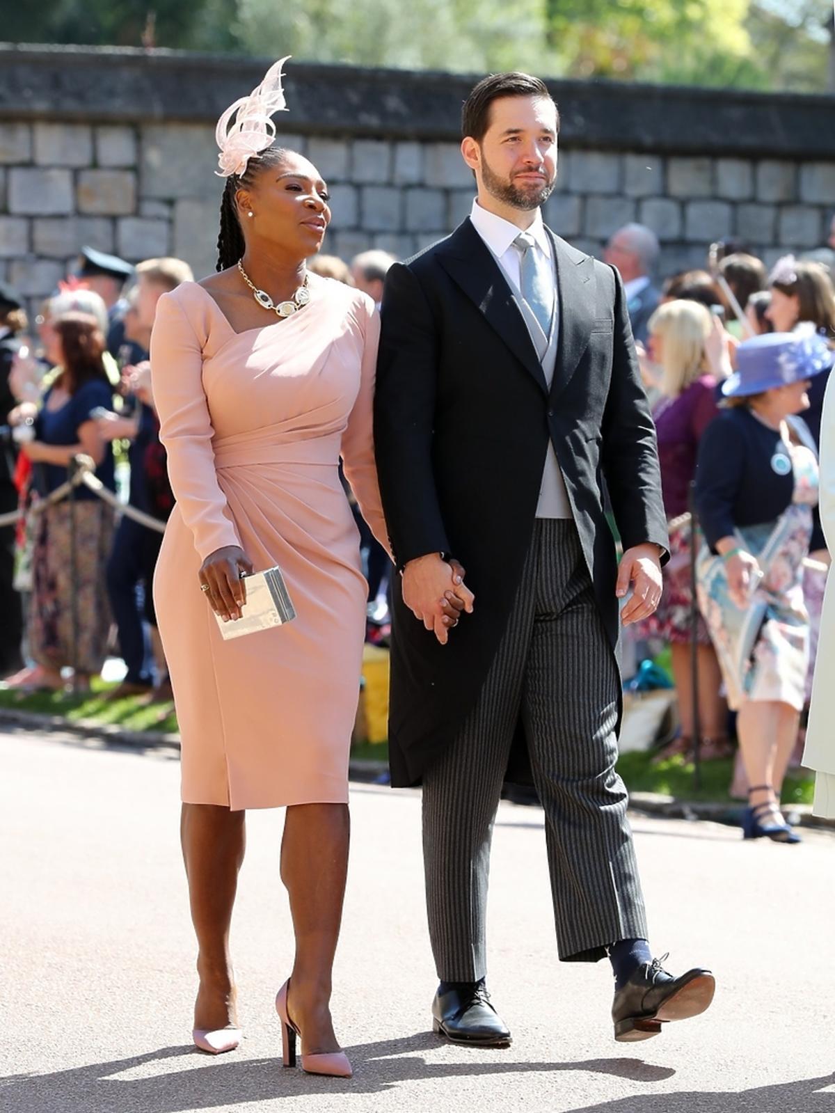 Serena Williams na ślubie Meghan Markle i księcia Harry'ego