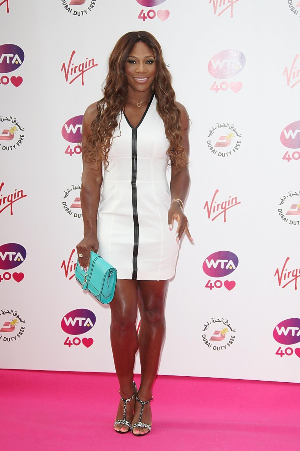 Serena Williams w Burberry