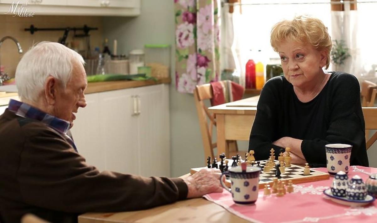 """Serialowa Kisielowa zdradziła, jak będzie wyglądało pożegnanie Lucjana w """"M jak miłość"""""""