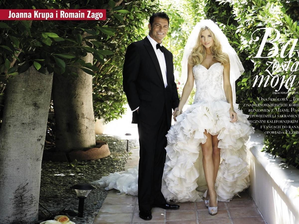 Sesja ślubna Joanny Krupy i Roamina Zago w