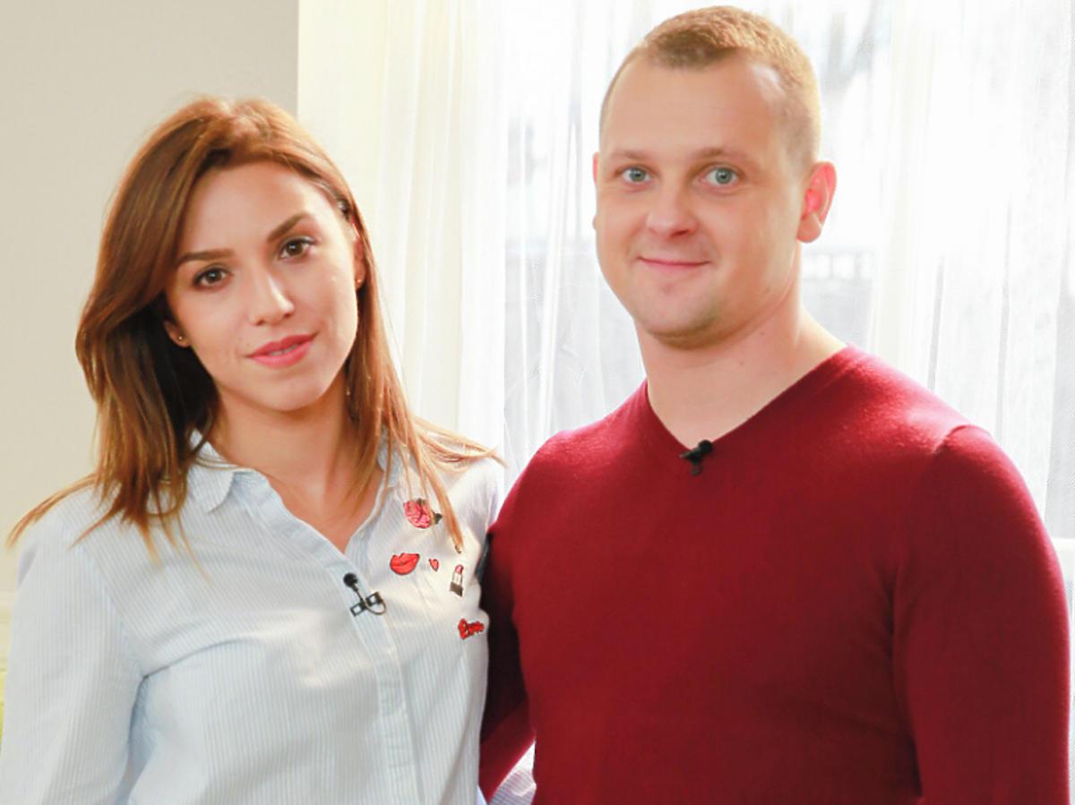 Seweryn z partnerką na planie świątecznego odcinka Rolnik szuka żony