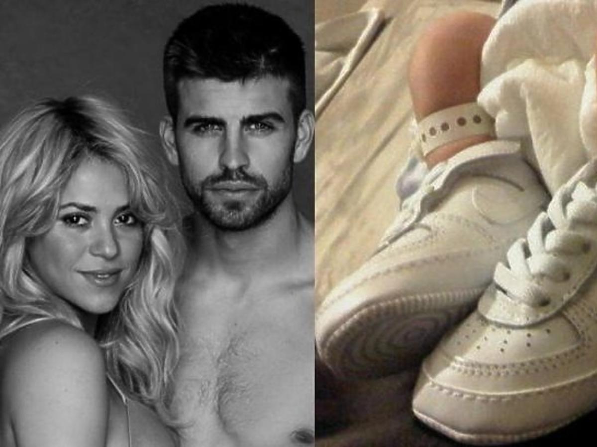 Shakira i Pique pokazali pierwsze zdjęcie syna