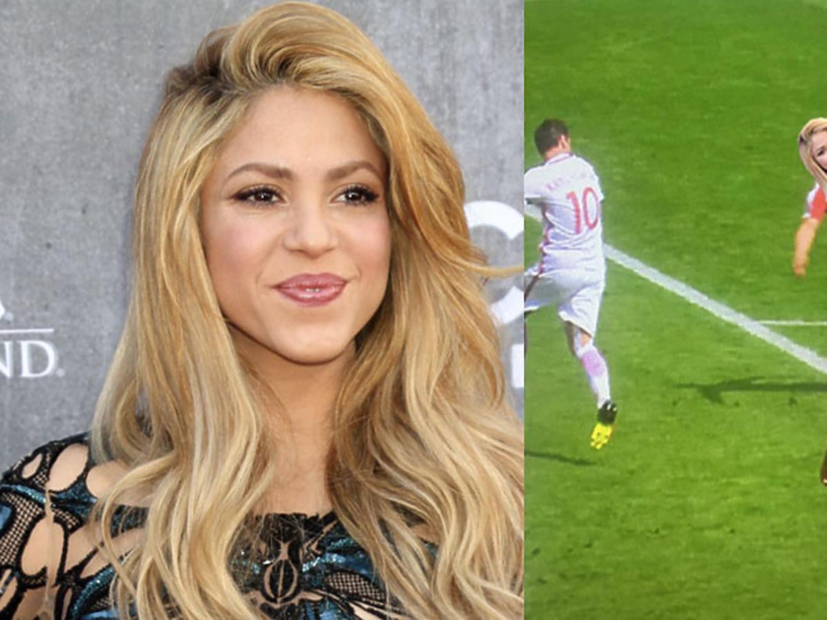 Shakira o golu w meczy Polska Szwajcaria