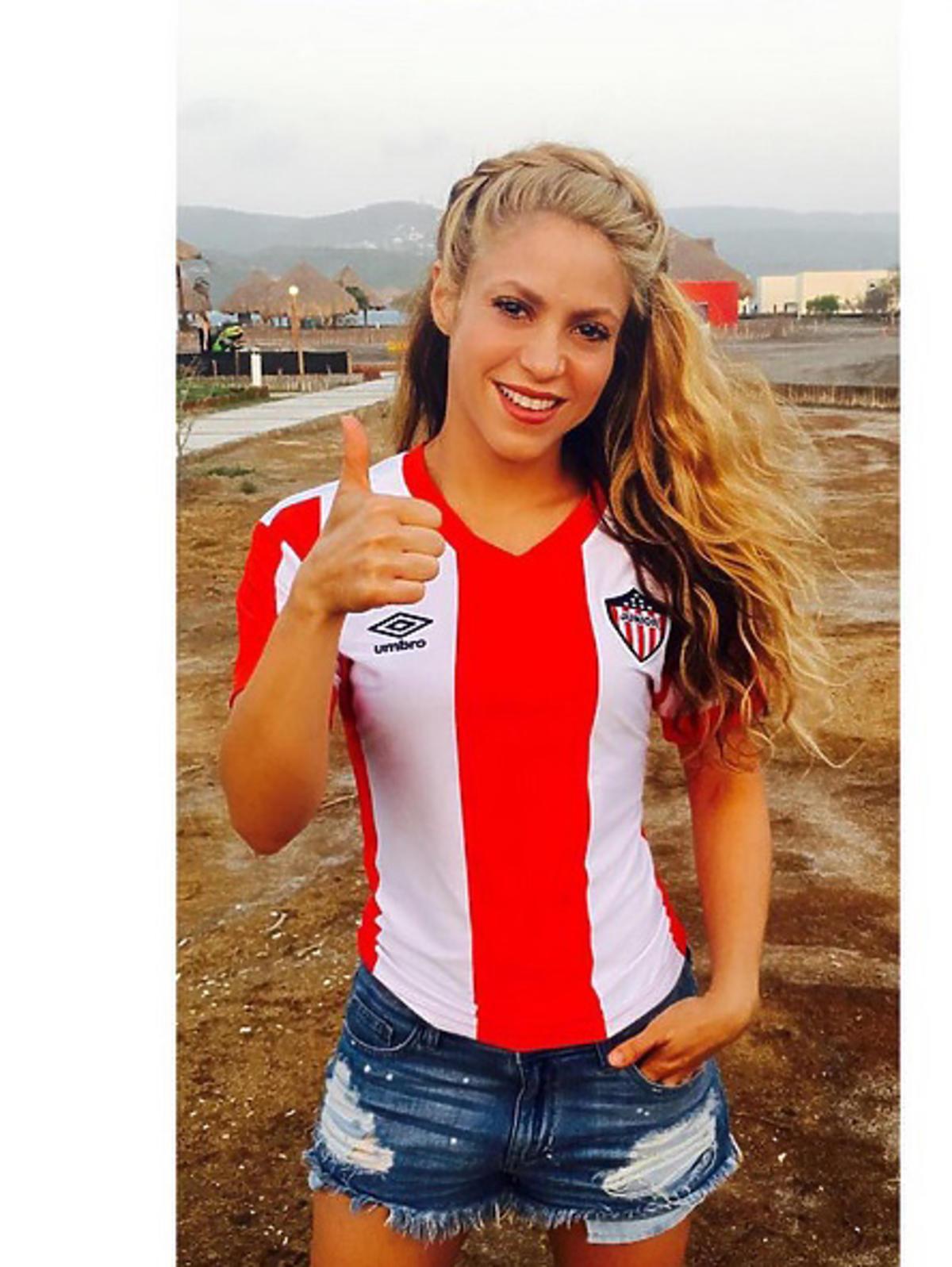 Shakira, partnerka Gerarda Piqué