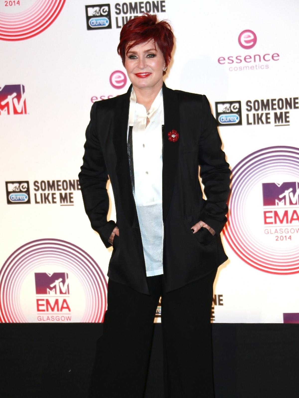 Sharon Osbourne na MTV EMA 2014 w Glasgow