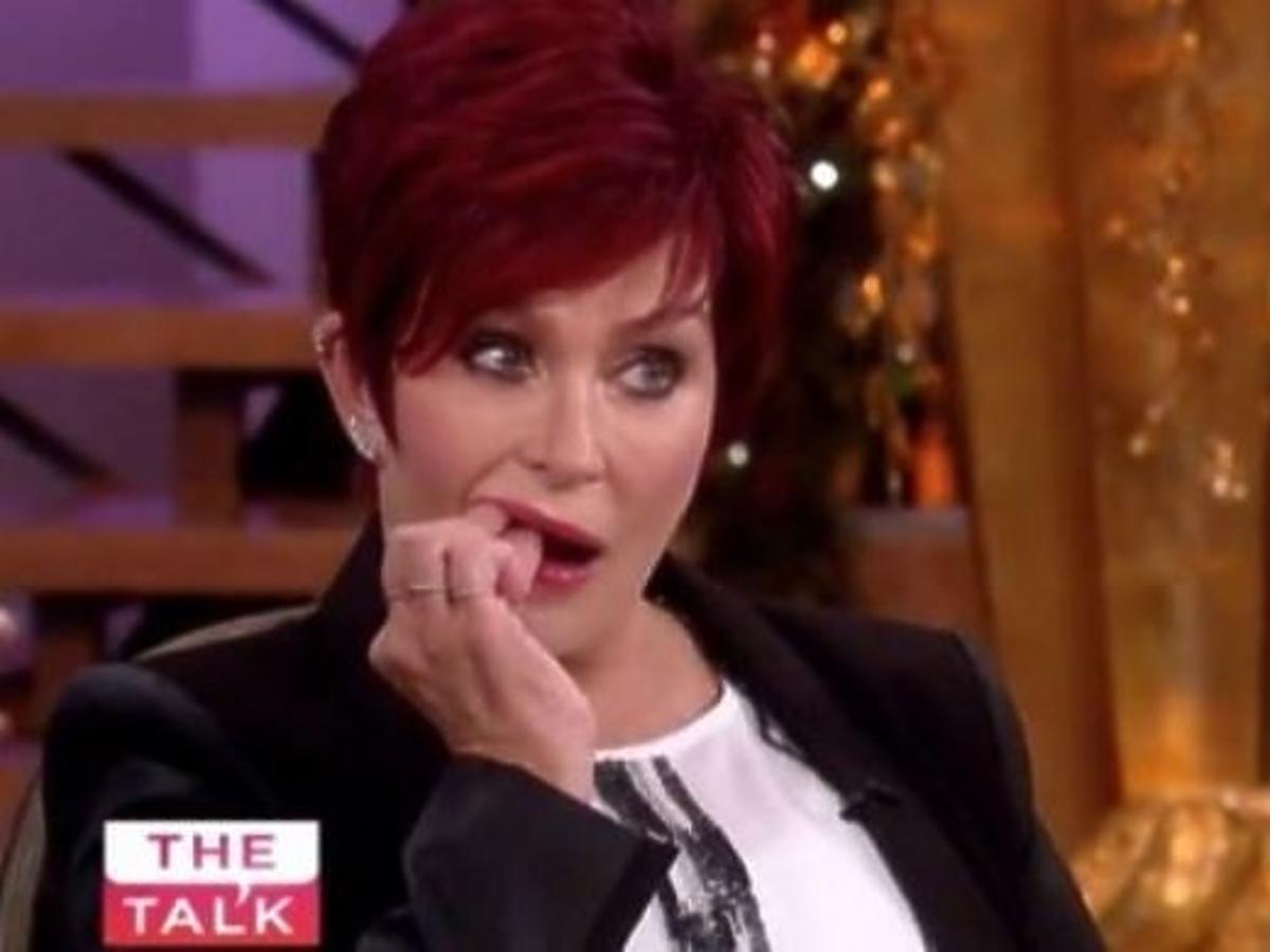 Sharon Osbourne straciła zęba na wizji