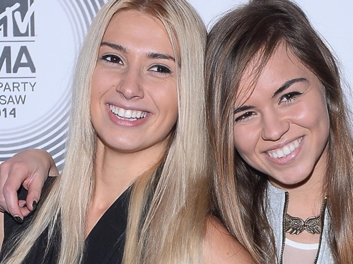 Siostry Bukowskie na imprezie MTV EMA 2014 Pre-Party