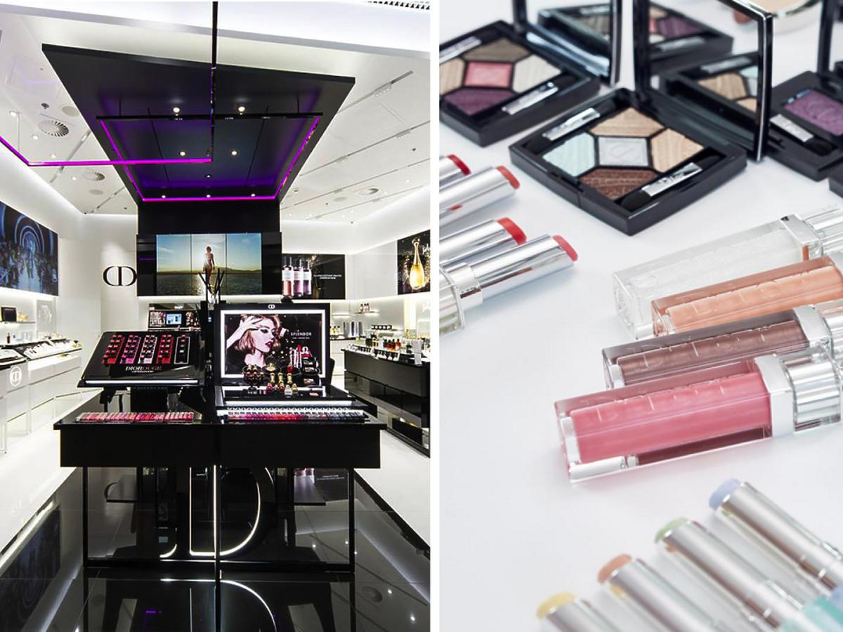 Sklep Dior w Polsce, Warszawa, Galeria Mokotów - kosmetyki