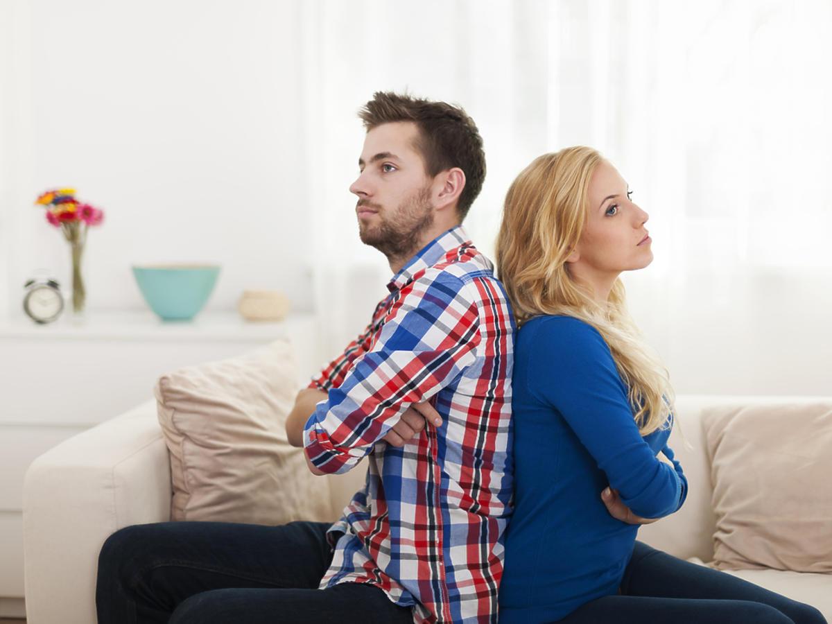 skłócona para