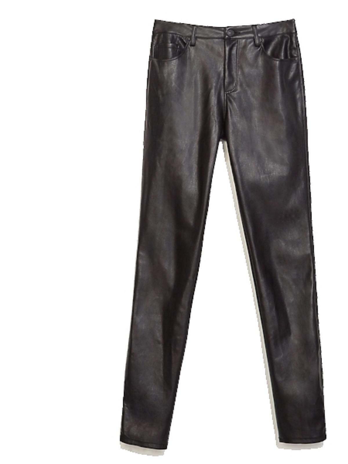 Skórzane spodnie Zara, cena