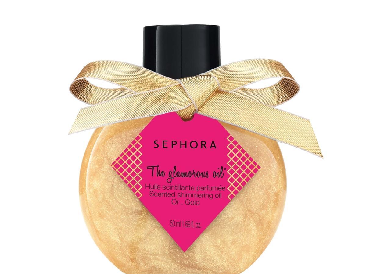 Skrzący się, perfumowany olejek do ciała The Glamorous Oil, Sephora