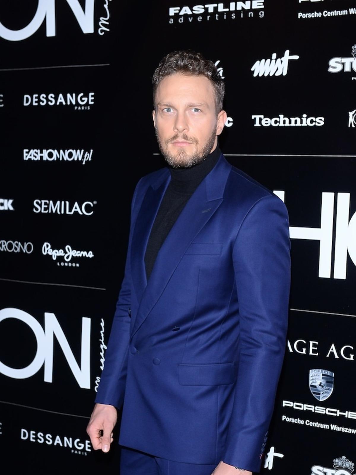 Sławek Uniatowski na Nagrody Fashion Magazine 2017