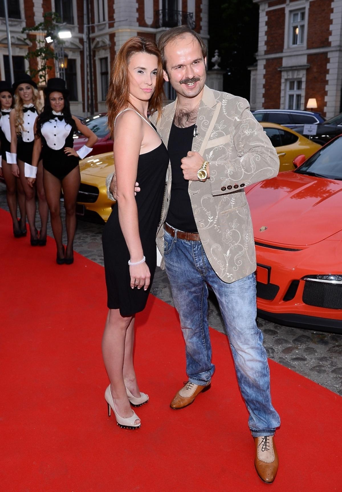 Sławomir Zapała na imprezie Samochód Roku Playboya