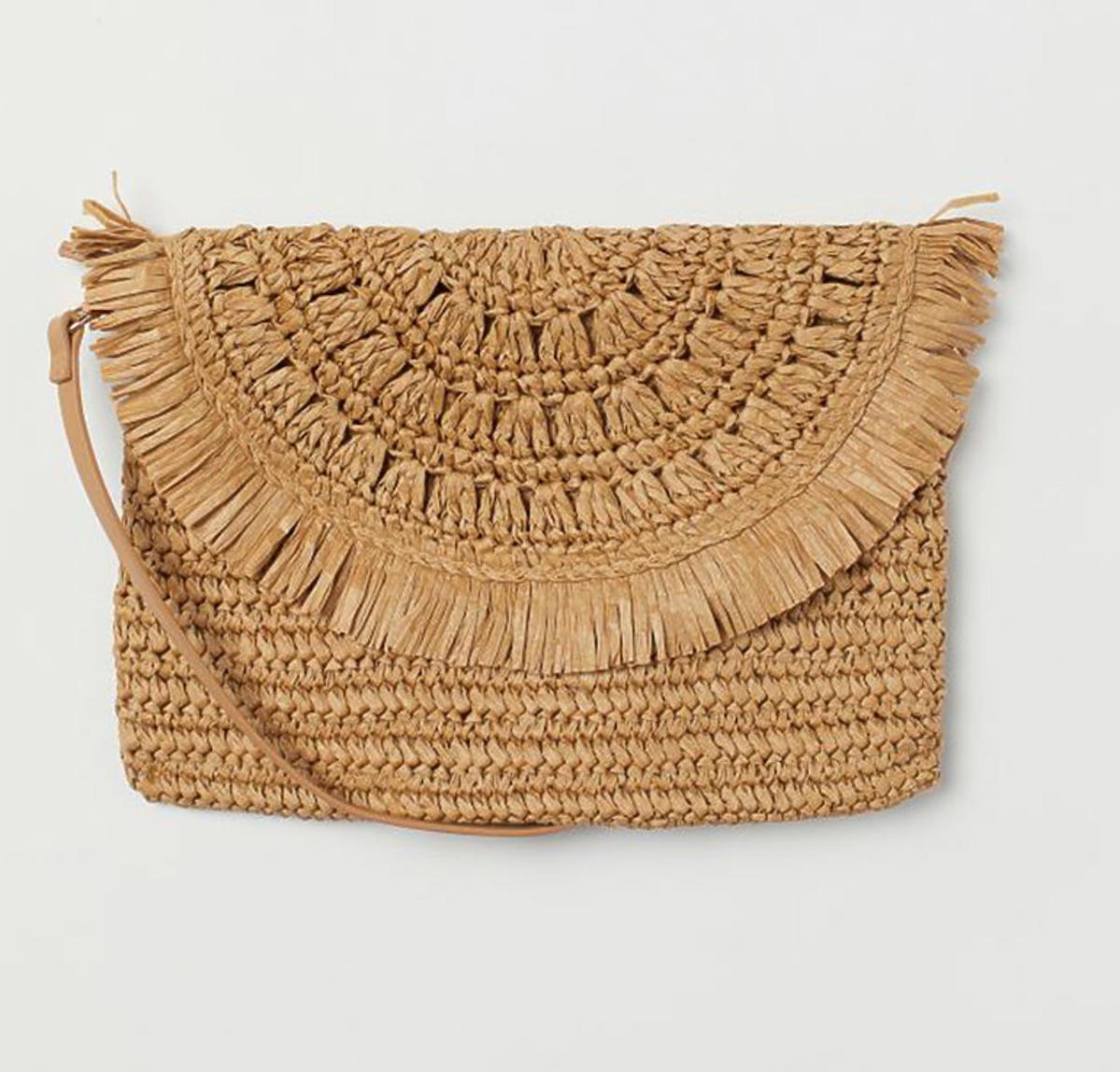 Słomkowa torebka z H&M