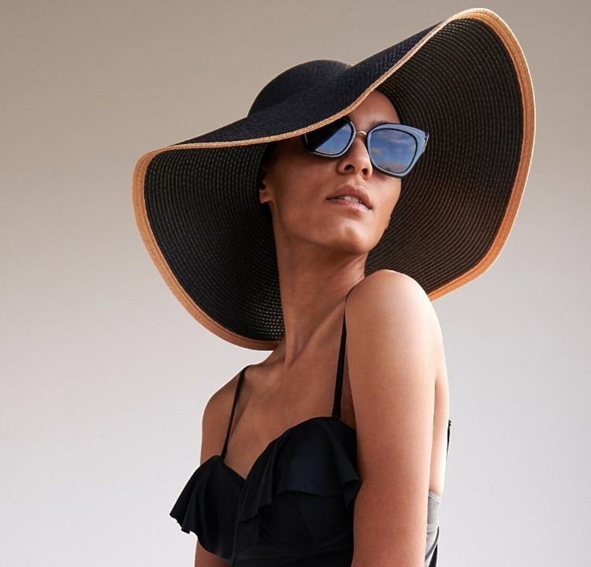 Słomkowy kapelusz z Reserved