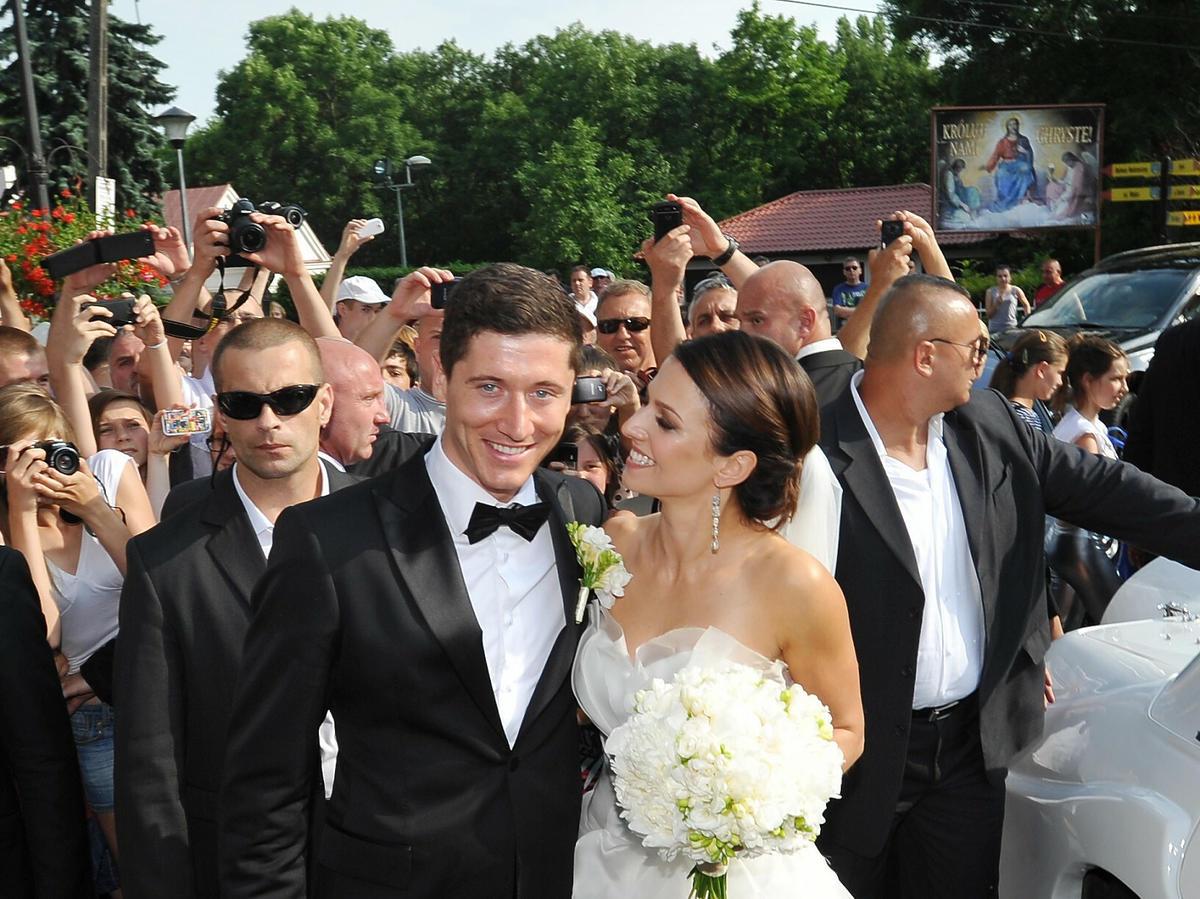 Ślub Anny i Roberta Lewandowskich
