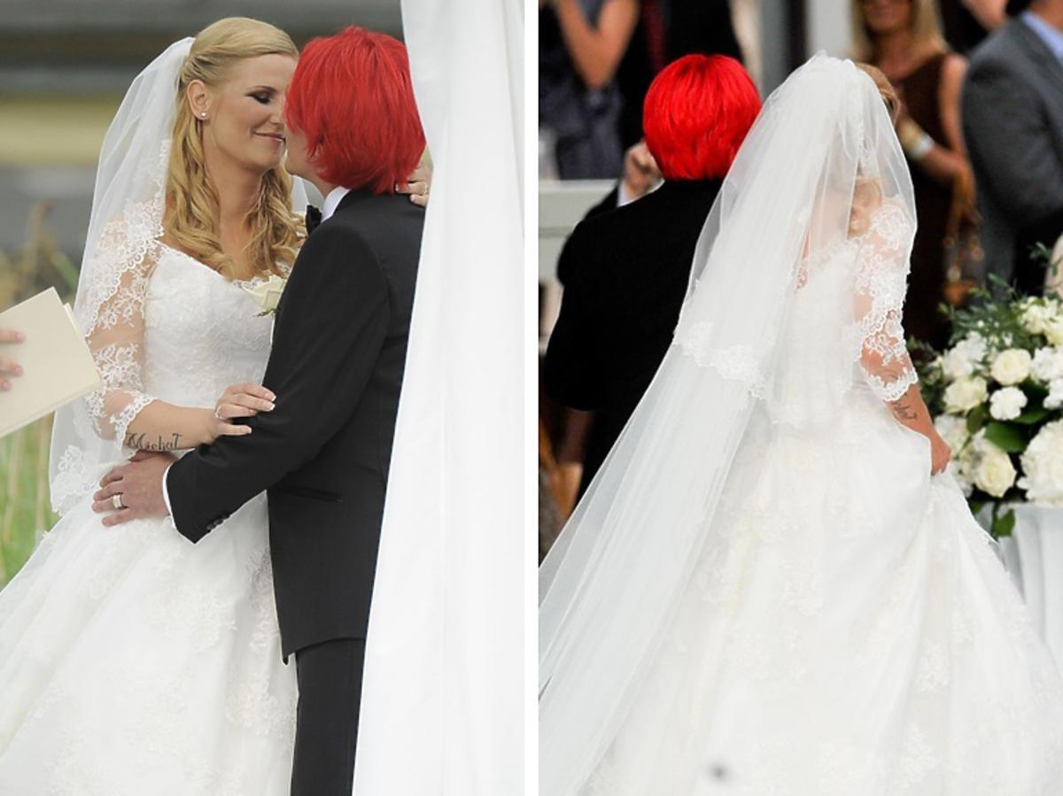 Ślub Dominiki Tajner Wiśniewskiej i Michała Wiśniewskiego